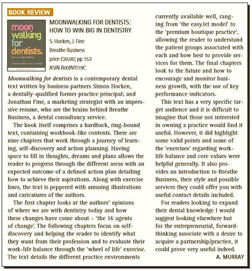 British Dental Journal, November 2014