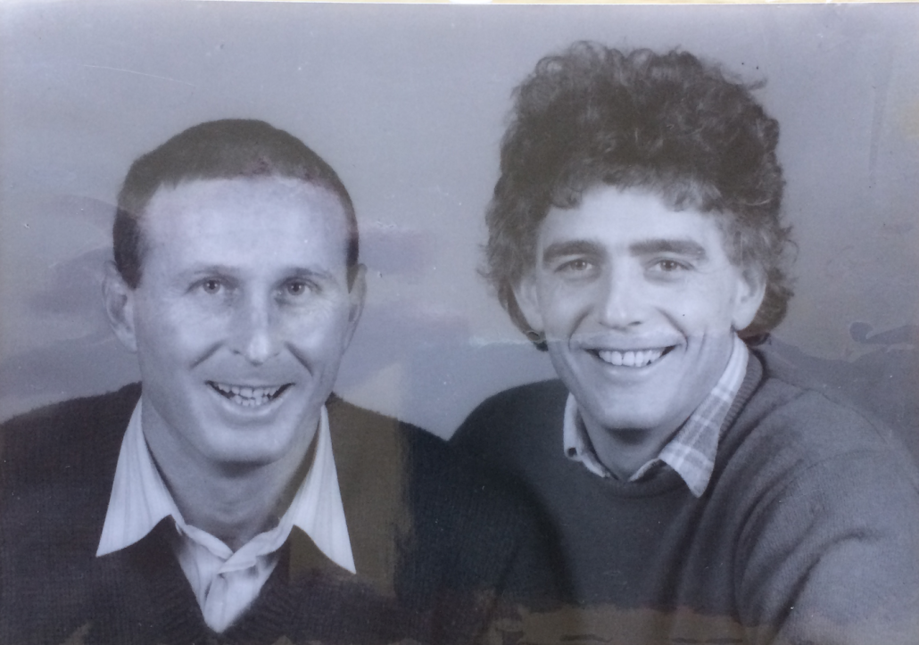 Micky and JJF in the 1980s