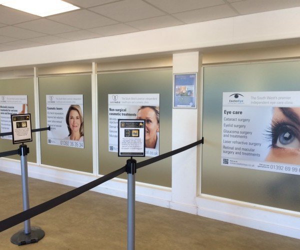 Adverts in Exeter airport testify to the increasingly mainstream appeal of facial aesthetics