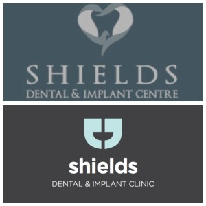 Before and after logos of a JJF client in Limerick, Ireland